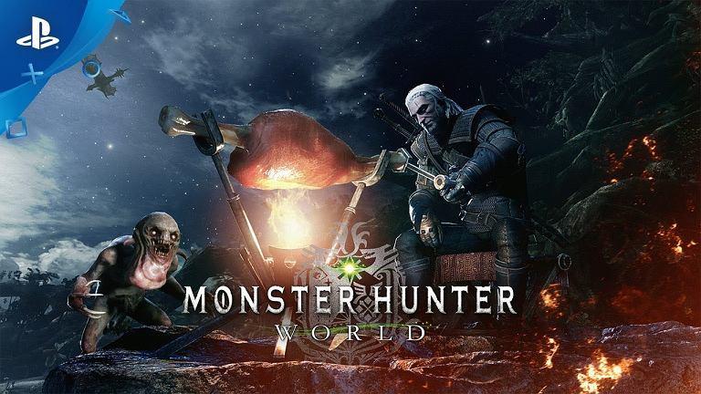 Geralt i Ciri w 'Monster Hunter World'