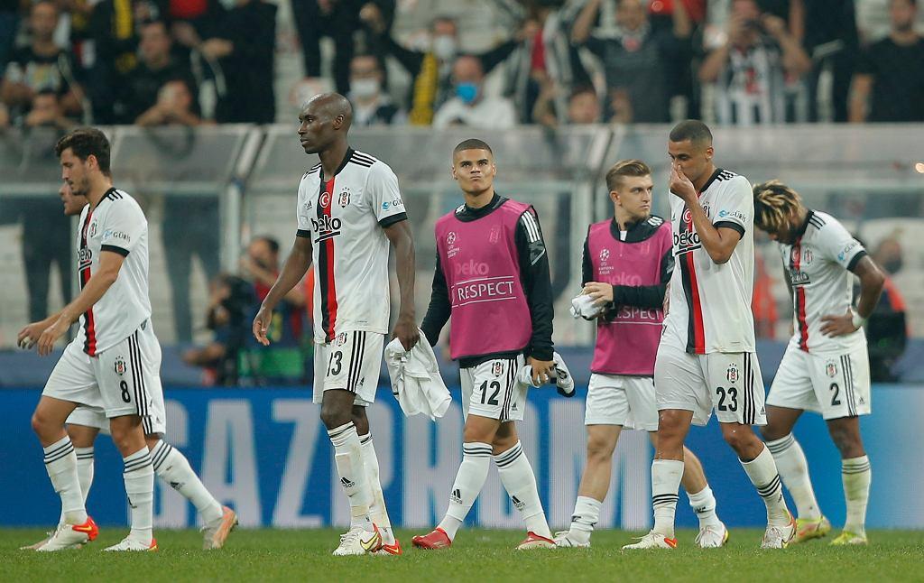 Dramatyczna sytuacja Besiktasu. Na mecz z Ajaksem bez 14 piłkarzy