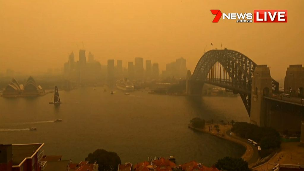 Stan powietrza w Sydney