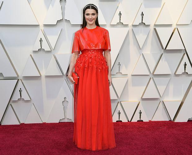 Oscary 2019. Rachel Weisz na czerwonym dywanie