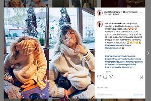 """Maria Konarowska ma ciekawy sposób na karmienie córeczki w restauracji. """"Mistrzyni"""""""