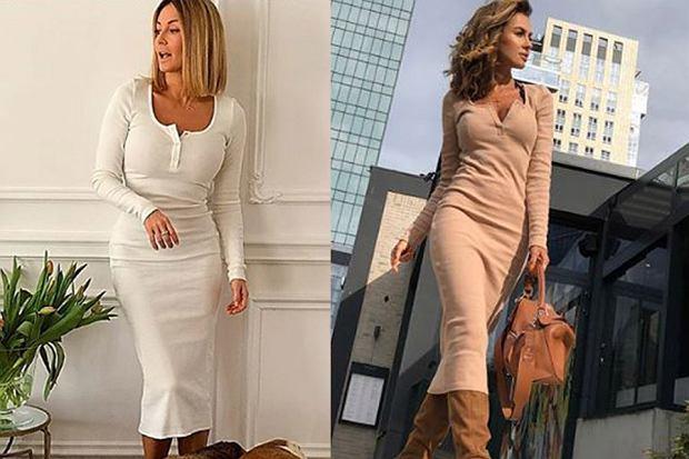 Szukacie idealnego fasonu sukienki na wiosnę? Postawcie na dopasowany model, który wyeksponuje waszą sylwetkę. Gwiazdy wybrały dla siebie projekt tej samej marki - może i wam przypadnie do gustu podobny model?