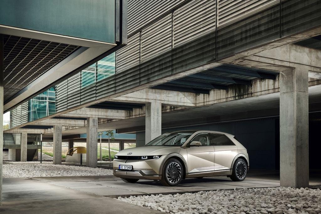 Elektryczny Hyundai Ioniq 5 wygląda zjawiskowo
