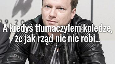 Maciej Stuhr trafnie skomentował wydarzenia w Polsce