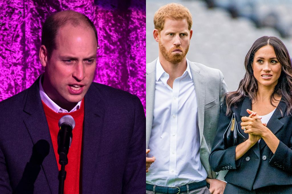Książę William chce powstrzymać podcast Meghan i Harrego