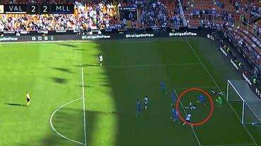 Piękny gol José Gai w meczu Valencia - Mallorca