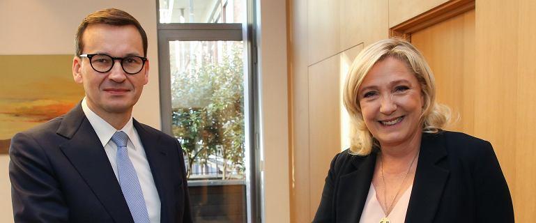 Verhofstadt po polsku o spotkaniu Morawieckiego z Le Pen: Cóż za osobliwe połączenie!