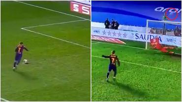 Antoine Griezmann fatalnie przestrzelił rzut karny w półfinale Superpucharu Hiszpanii
