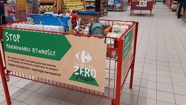 Akcja Carrefoura 'STOP Marnowaniu Żywności'