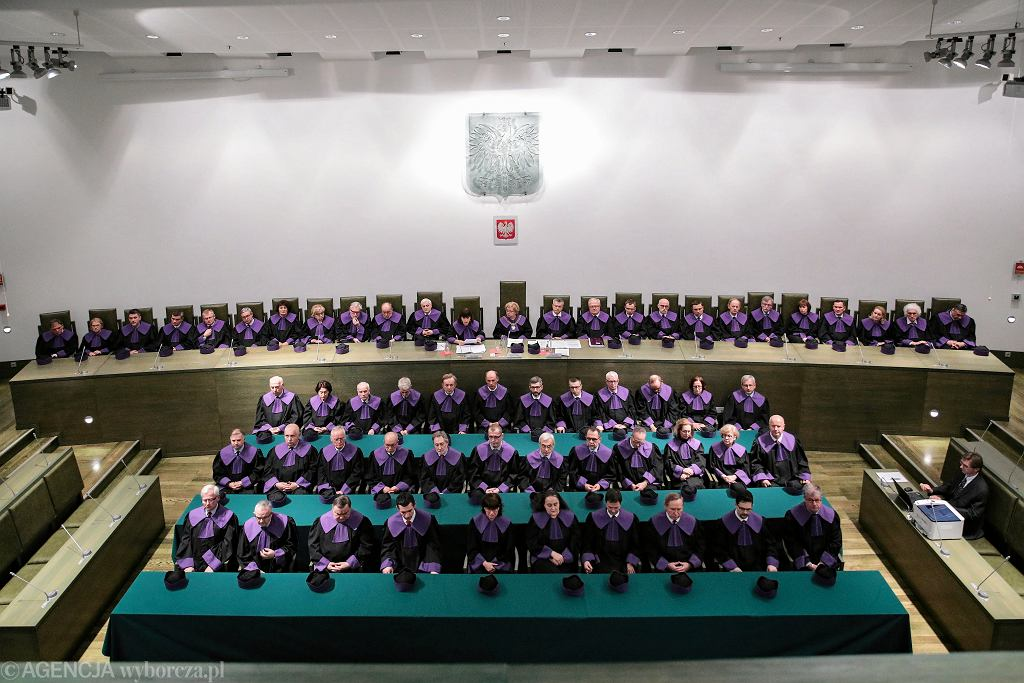 Sąd Najwyższy ogłasza orzeczenie w sprawie sędziów powołanych z pomocą nowej KRS, Warszawa 23.01.2020