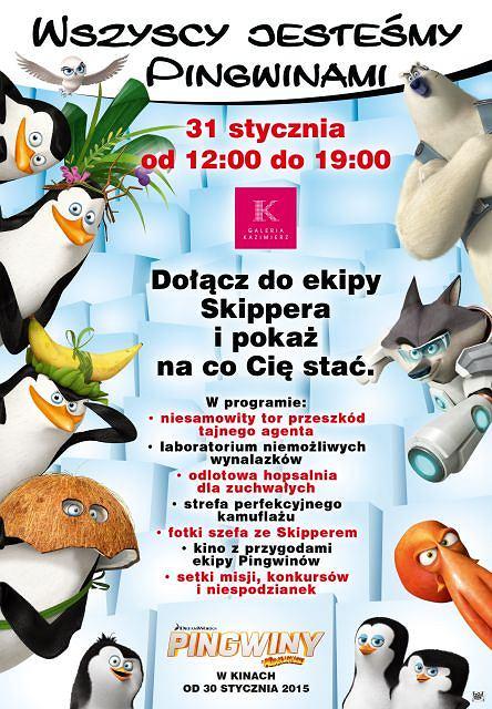 Spotkania z Pingwinami z Madagaskaru