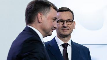 Mateusz Morawiecki, Zbigniew Ziobro