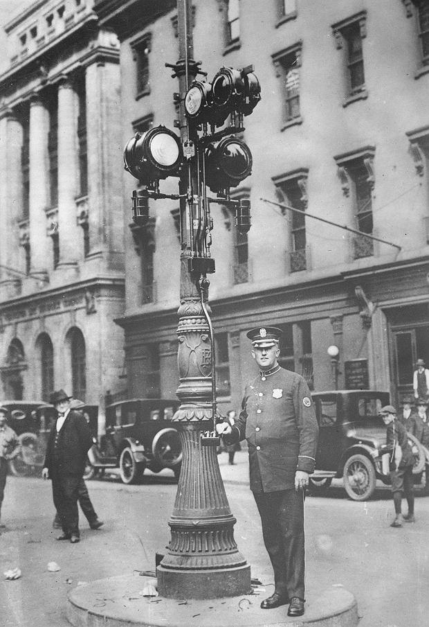 Historia sygnalizacji świetlnej