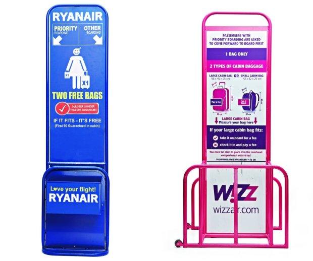 Sizery Ryana i Wizza