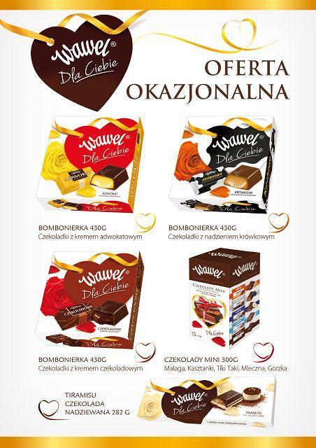 Idealny prezent na Walentynki - tylko Słodki Wawel!