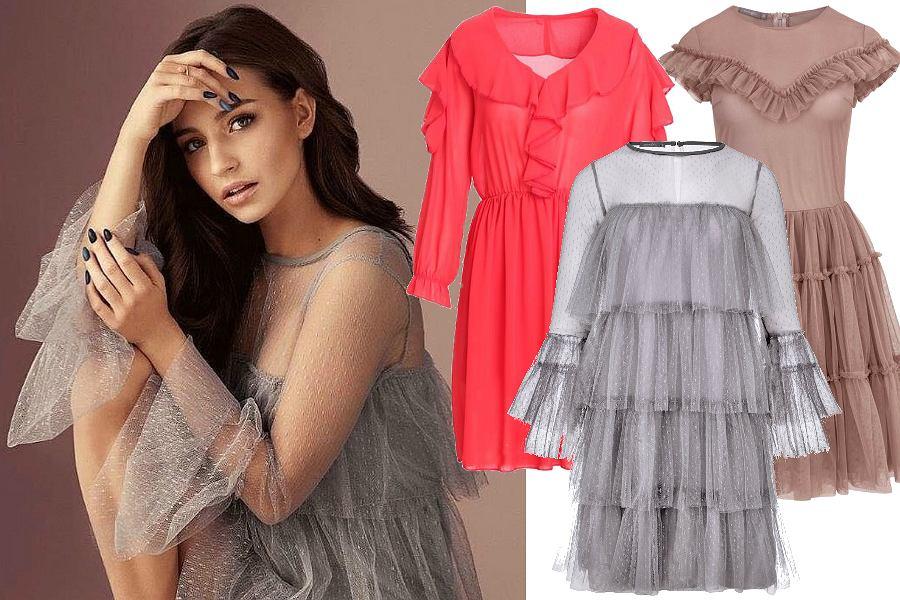 Zwiewne sukienki na wiosnę i lato