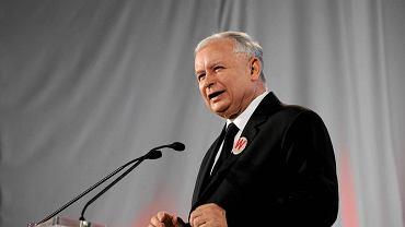 Jarosław Kaczyński na konwencji w sprawie referendum