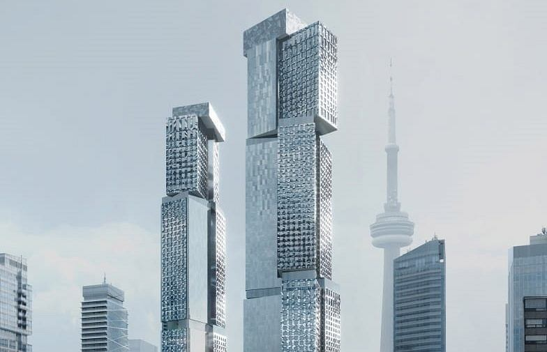 Gehry Project w Toronto. Proj. Gehry Partners