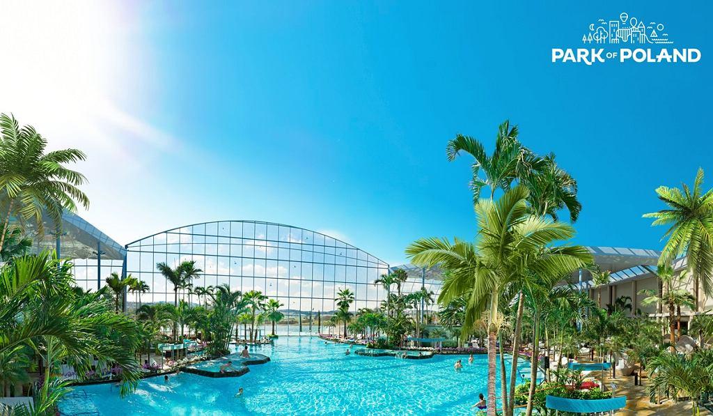 Wizualizacja aquaparku w kompleksie 'Park of Poland'