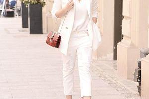 Małgorzata Socha cała na biało