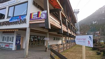 Centrum testów na covid na MŚ w narciarstwie klasycznym w Oberstdorfie