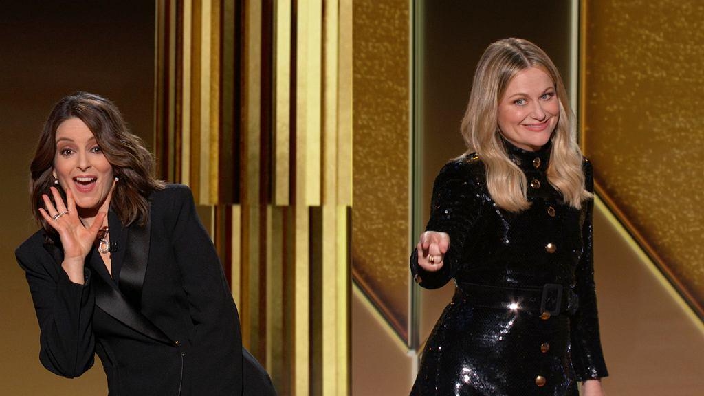 Złote Globy 2021 - prowadzące Tina Fey i Amy Poehler