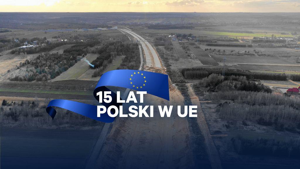 Budowa autostrady A-1 w Wierzchowisku kolo Częstochowy
