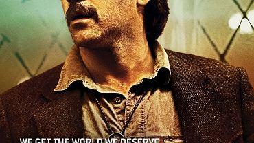 "Fragment plakatu zapowiadającego drugi sezon ""Detektywa"""
