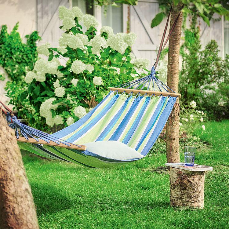 Klasyczny hamak ogrodowy