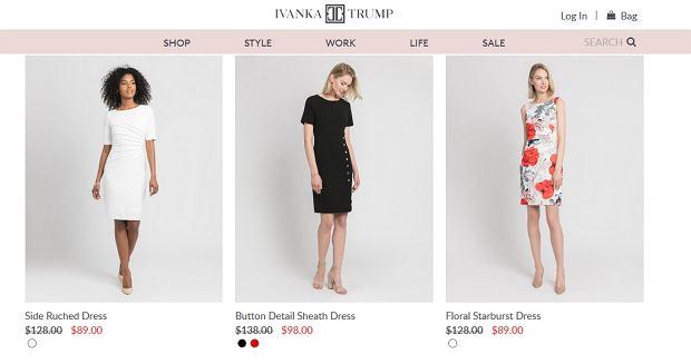 Sukienki firmy Ivanki Trump