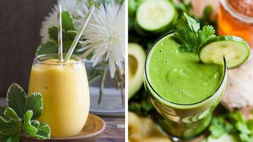 Przepisy na orzeźwiające smoothies z warzyw i owoców