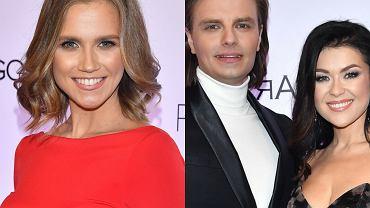 Miss Polonia 2020. Agnieszka Kaczorowska podkreśliła ciążowe krągłości, Katarzyna Cichopek prezentuje się bardzo elegancko