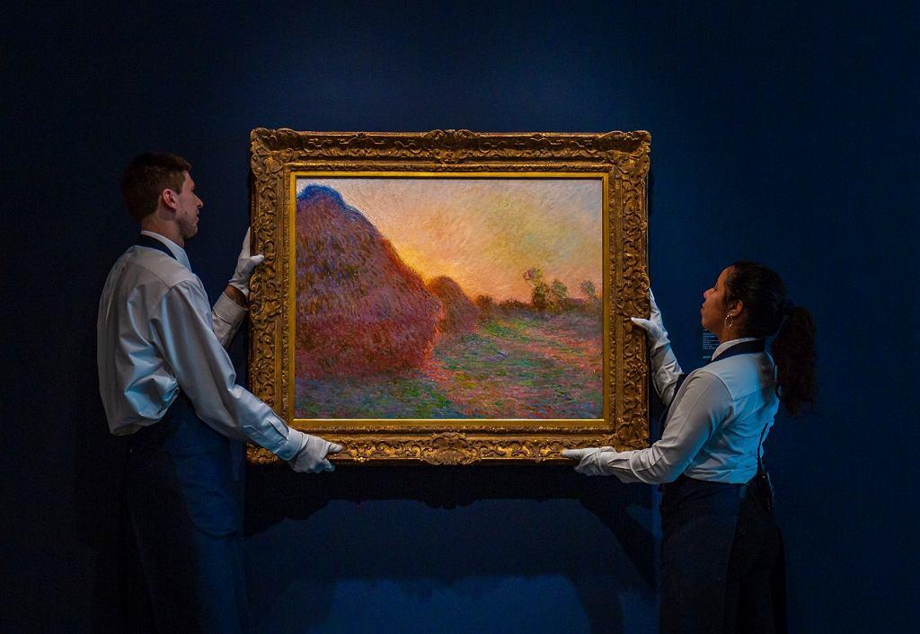 Claude Monet, 'Meules', Sotheby