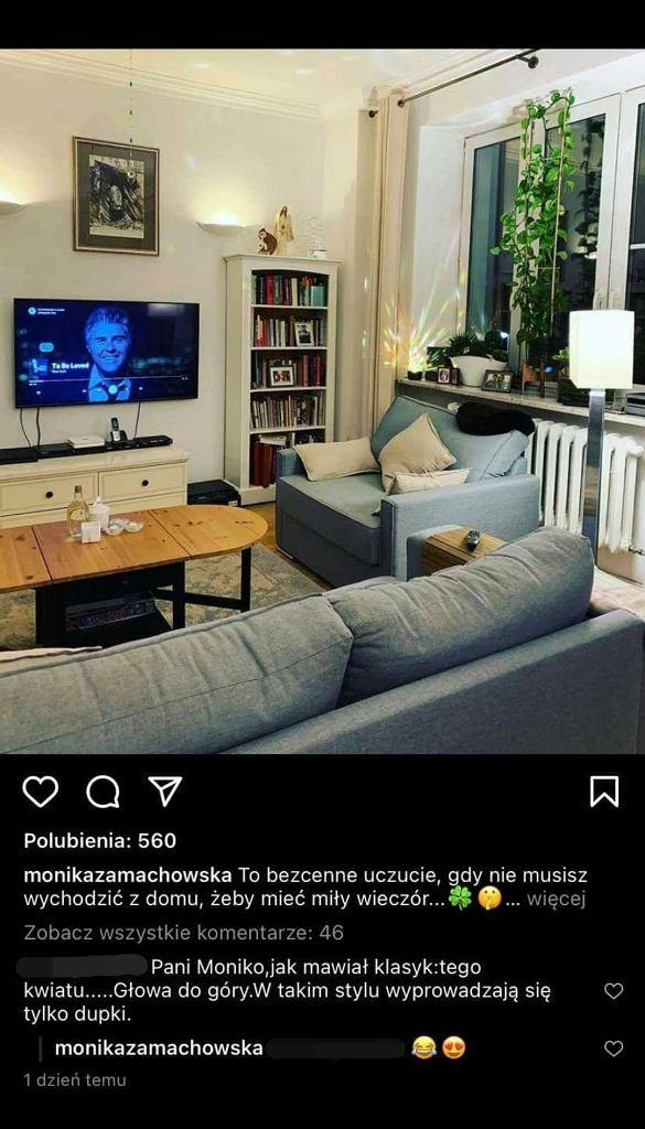 Czy Monika i Zbigniew Zamachowski się rozstali? Dziennikarka znacząco reaguje na komentarz fana