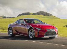Lexus LC doczekał się drobnej modernizacji. Dalej jest piękny