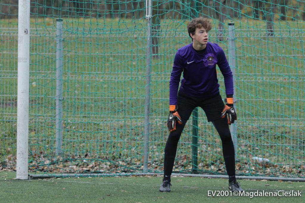 15-letni Żan-Luk Leban trenujący na co dzień w Escoli Varsovia