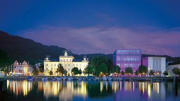 Vorarlberg, Austria. Dom Sztuki w Bregencji