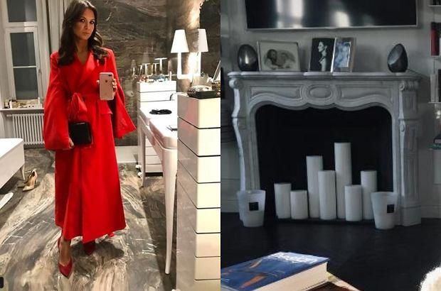 Zdjęcie numer 0 w galerii - Kinga Rusin umie urządzić mieszkanie. Stonowane kolory i klasyczny wystrój. Ależ tam przytulnie!