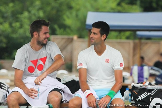 Stan Wawrinka, Novak Djoković