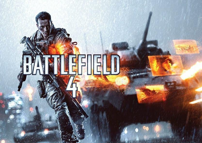 Okładka gry Battlefield 4. Jej tło wykorzystało PGZ w newsletterze
