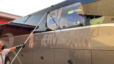 Liverpool-Real. Skandal przed meczem. Kibice zaatakowali autokar 'Królewskich'
