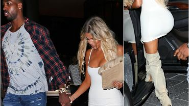 Khloe i Thompson spotykają się od niedawna. Celebrytka bardzo stara się, aby dla nowego faceta wyglądać jak najbardziej seksownie. Na sobotni wieczór wróciła więc do długich włosów i pochwaliła się mocną opalenizną. Nowy kolor skóry podkreśliła bardzo obcisłą, białą sukienką.