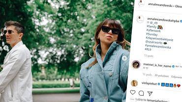 Instagram/Anna Lewandowska