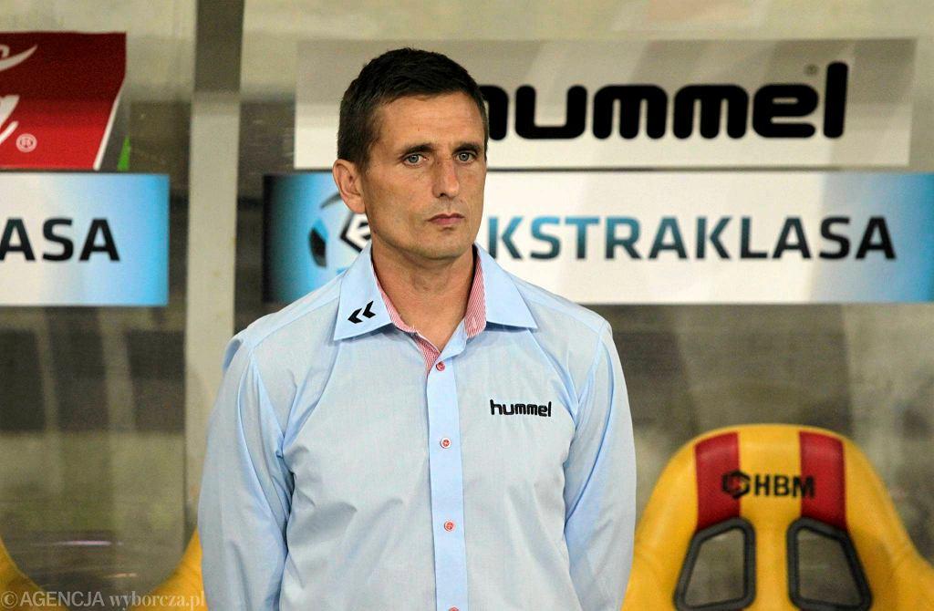Trener Korony Marcin Brosz