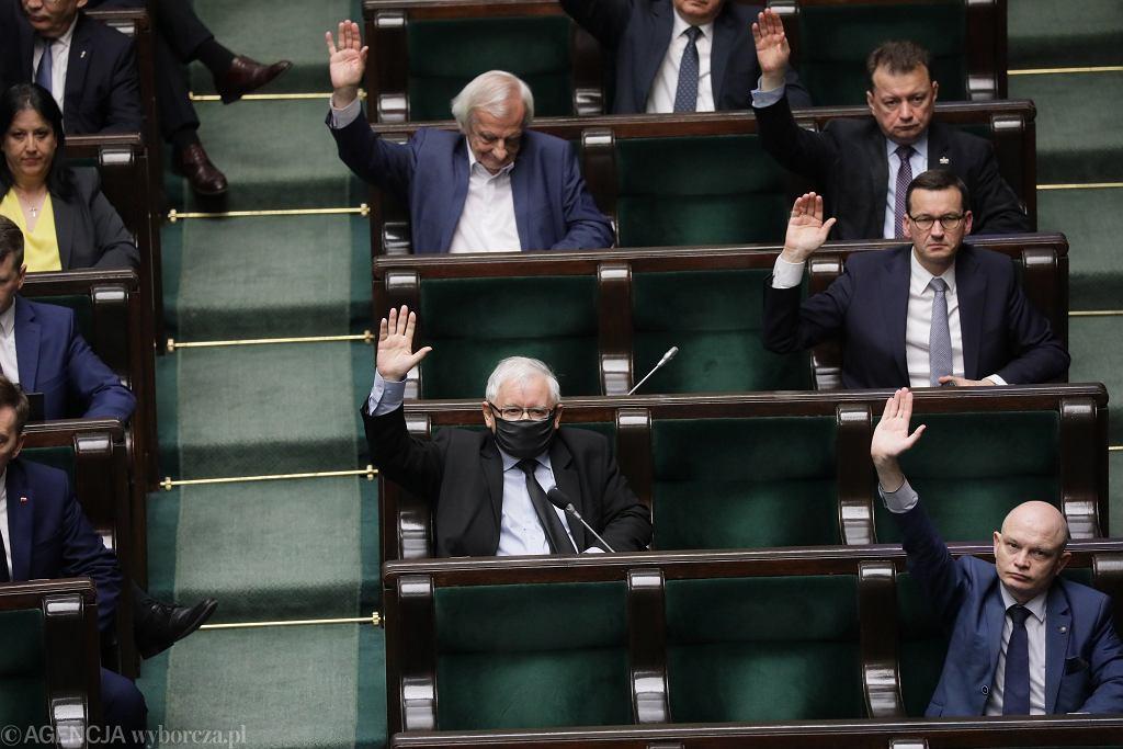 Drugi dzień 12 posiedzenia Sejmu IX kadencji. Warszawa, 28 maja 2020