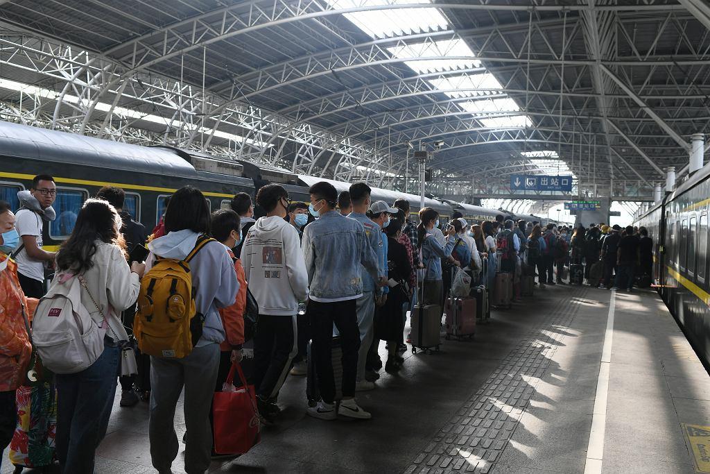 W majówkę w podróż ruszyły miliony Chińczyków