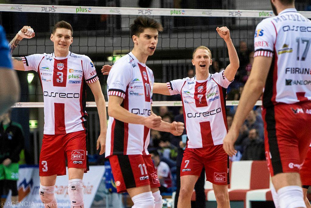 Asseco Resovia - BBTS Bielsko-Biała 3:0