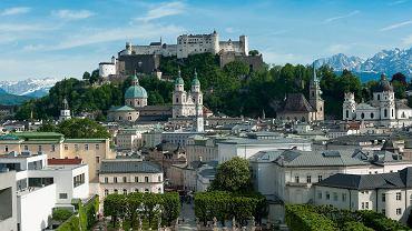 Salzburg zachwyca pięknym położeniem
