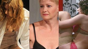 Sztuka wymaga poświęceń. Czasem oznaczają one rozebrania się na scenie do bielizny na deskach teatru. Co ciekawe, ta która już występuje scenie, jest bardzo seksowna. Nie brakuje podwiązek, gorsetów i push upów. Nie dajcie się zwieźć, aktorki, które na co dzień widujemy w skromnych strojach, na scenie pozwalają sobie na największe szaleństwa.