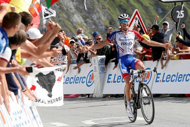 Thibaut Pinot wygrywa 14. etap Tour de France